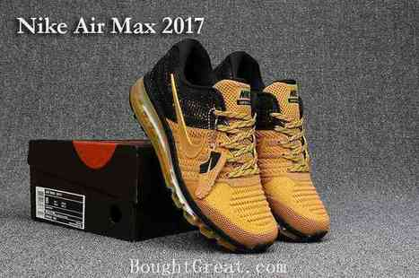 Nike Air Max 2017 KPU Mens Running Shoes Red Black Outlet