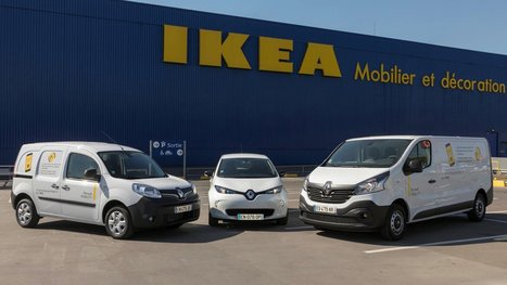 Renault Launches Car-Sharing Service For Ikea Customers | Future of Electric Cars, Autonomous Vehicles & Energy | Scoop.it