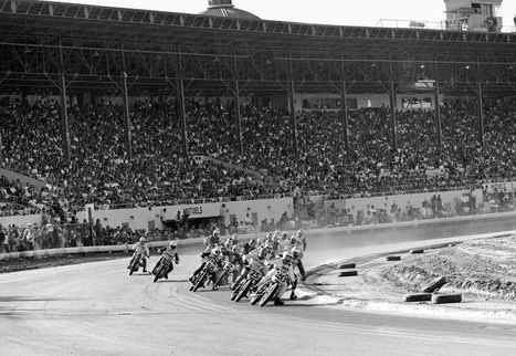 Throwback Thursday: Sacto Mile '69! - Cycle News | California Flat Track Association (CFTA) | Scoop.it