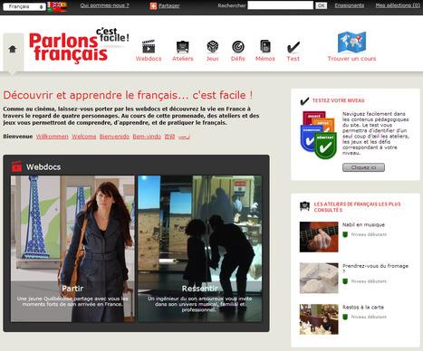 Apprendre le français avec des webdocumentaires - Parlons français, c'est facile ! | TICE & FLE | Scoop.it