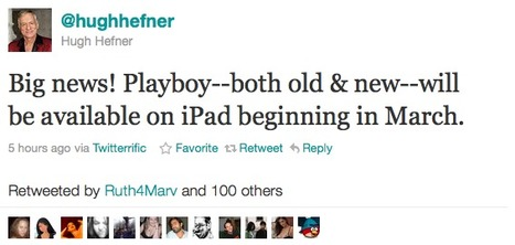 Playboy Magazine coming to iPad in its uncensored form in March, including full back catalog | All Geeks | Scoop.it