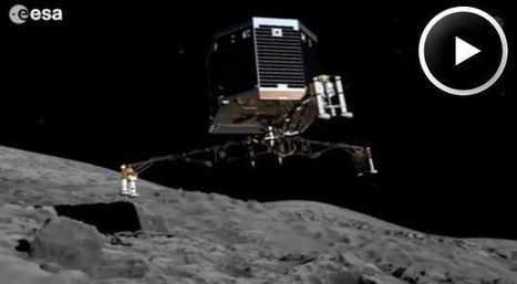 How to Land on a Comet - NASA Science | Space & Time | Scoop.it
