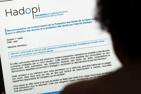 Piratage : la Hadopi plus active que jamais ! | Freewares | Scoop.it