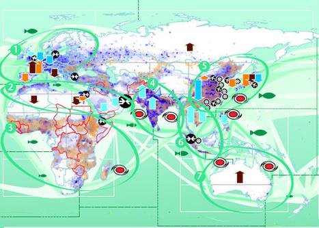 Así es el mapa del impacto del cambio climático en el mundo | Digital Cartography | Scoop.it