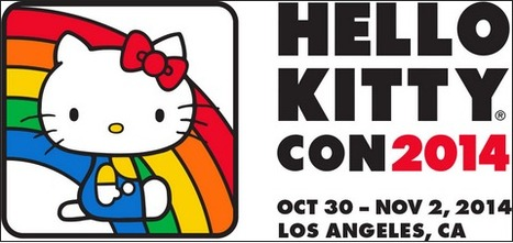 Celebrate 40 Yrs. @ 'Hello Kitty Con' 2014; Yes - It Is Real - Lez Get Real | Avant-garde Art, Design & Rock 'n' Roll | Scoop.it
