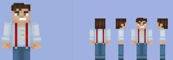 Minecraft Story Mode Jesse Skin Minecraft Mod - Baixar skins para minecraft 1 8