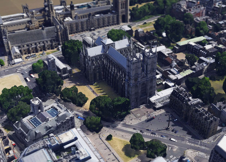 Google adds London to its growing list of 3D-mapped cities | visual data | Scoop.it