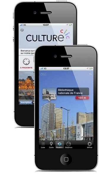 CultureClic - Augmented Culture on mobile - Geolocation & Augmented Reality Mobile App | innovation veille | Scoop.it