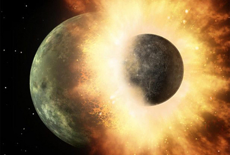 The Moon Is 100 Million Years Younger Than Thought | Amazing Science | Scoop.it
