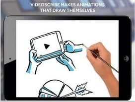 A Great App for Making Animations That Draw Themselves (Whiteboard animation) | Digital storytelling in efl classroom | Scoop.it