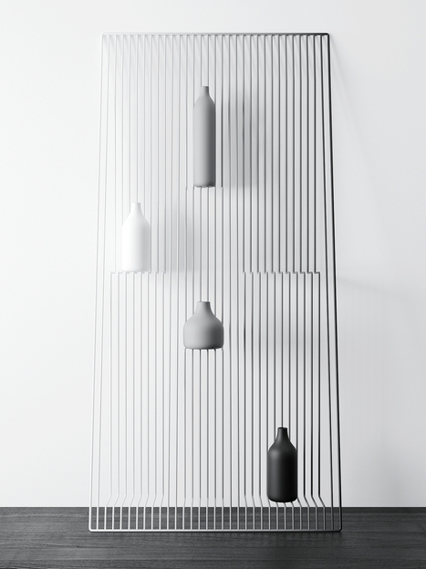 Concept of the Week: optical illusion shelf suspends objects in midair | The brain and illusions | Scoop.it