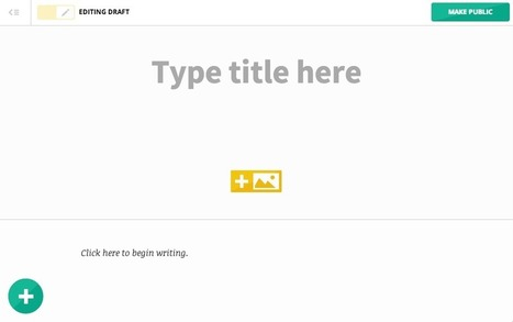 A Simple Publishing Platform for Online Writers and Storytellers: Marquee.by | Web Publishing Tools | Scoop.it