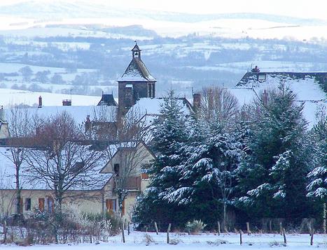Le Carladez sous la neige | L'info tourisme en Aveyron | Scoop.it