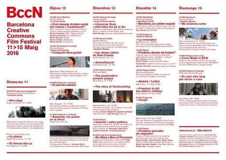 Programación | BccN | Cinema Libre + Cultura Libre | Scoop.it
