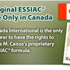 ESSIAC Herbal Supplements