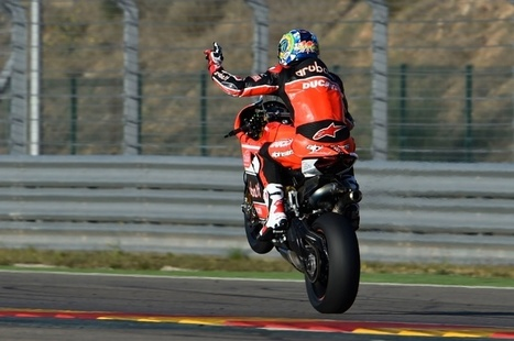 Davies gives glowing report on Ducati upgrades | Ductalk Ducati News | Scoop.it