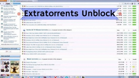 Extratorrents Unblock Proxy And Mirrors Unblock Extratorrents Cc Proxies List