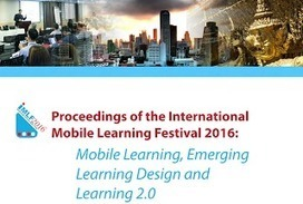 "@Ignatia Webs: Free papers on mobile learning from #IMLF2016 conference #mlearning | Openness in Education and New ""Trends"" in Educational Technology 