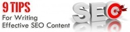 9 Tips for Writing Effective SEO Content | Social Media Trends for Business | Scoop.it