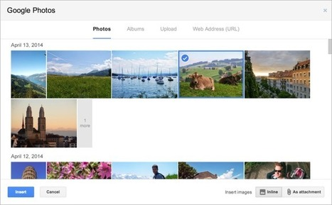 Gmail Now Lets You Insert Photos Automatically Backed Up From Your Smartphone Via Google+ | E-Tourisme Mobile | Scoop.it