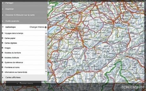 Cartes et géodonnées suisses en ligne | Géographie : les dernières nouvelles de la toile. | Scoop.it