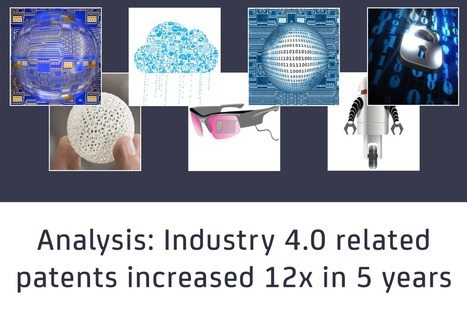 Industry 4.0 related patents have grown by 12x in 5 years   Innovating to what's next...   Scoop.it
