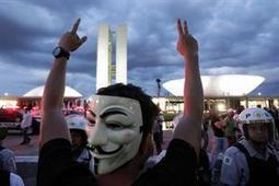 Brazil Protesters Swarm Oscar Niemeyer National Congress Building in Brasilia | The Architecture of the City | Scoop.it