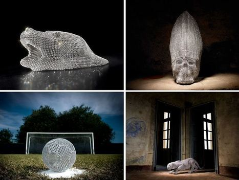 Crystal Sculptures by Nicola Bolla | FASHION & LIFESTYLE! | Scoop.it