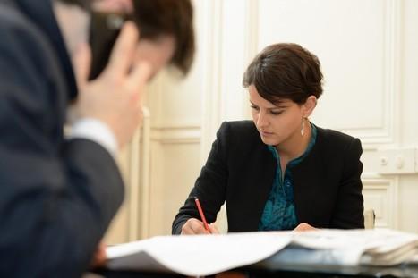 Najat Vallaud-Belkacem encourage la féminisation des directions d'entreprises  Najat Vallaud-Belkacem   Egalité hommes-femmes   Scoop.it