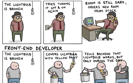 IT Jobs Explained With A Broken Lightbulb [comic] | Tudo o resto | Scoop.it