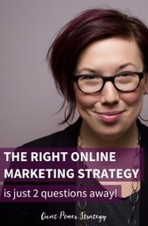 The Right Online Marketing Strategy? 2 Questions I Use | The Twinkie Awards | Scoop.it