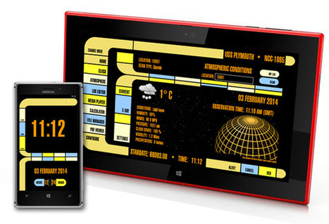 Get Star Trek LCARS on your Lumia - Nokia Conversations | Nokia, Symbian and WP 8 | Scoop.it