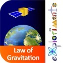 Exploriments: Newton's Law of Gravitation - Effect of Mass, Distance and Altitude on Gravitational Force and Satellite Orbit | Apps for learning | Scoop.it