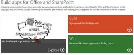 Microsoft DevCamps - Building Apps for Office and SharePoint | All About SharePoint | Scoop.it