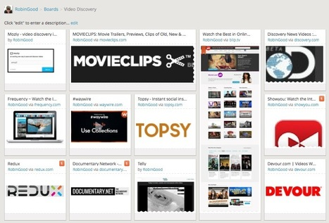 Video Discovery Tools: Where To Find New, Relevant Video Clips On Any Topic | Transliterate | Scoop.it