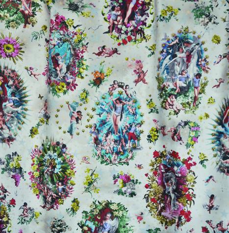39 toile de jouy 39 in tissu d 39 ameublement art textile et papier peint de luxe. Black Bedroom Furniture Sets. Home Design Ideas