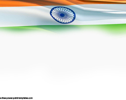 india flag ppt powerpoint template | free templ, Modern powerpoint