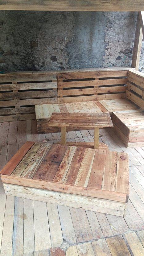 Complete Pallet Garden Set Pallet Ideas 1001 Pallets: Pallet Kitchen Countertop