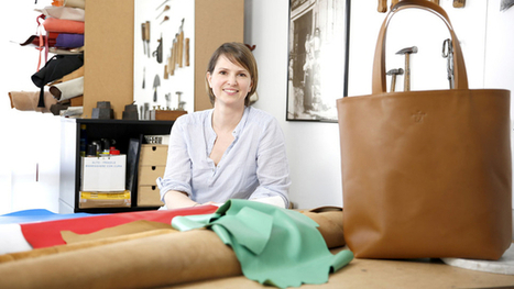Marion Depéry a la maroquinerie dans la peau | Métiers, emplois et formations dans la filière cuir | Scoop.it