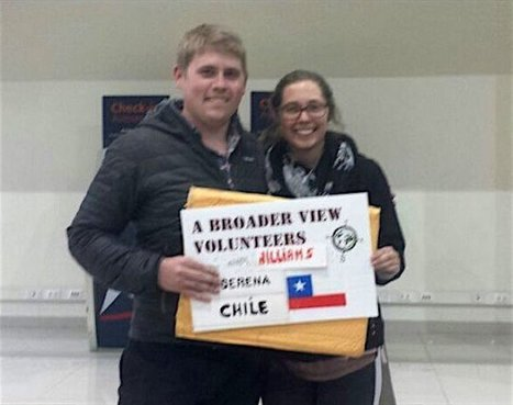 """Review Owen Williams Volunteer in La Serena Chile at the Teaching program 