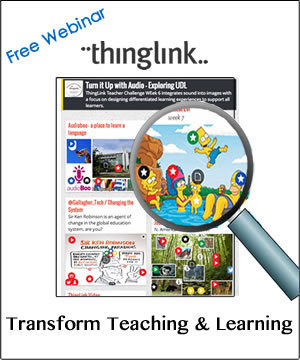 Free Webinar: Transform Teaching & Learning with ThingLink   Cool Tools for Common Core Connections   Scoop.it