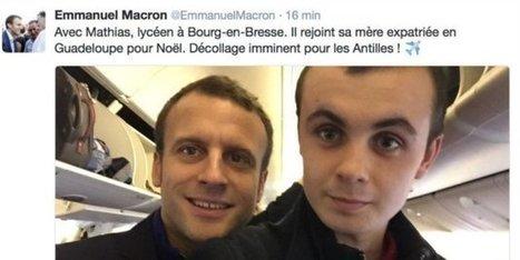 La gaffe qu'Emmanuel Macron va traîner pendant son voyage aux Antilles | Crise de com' | Scoop.it