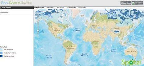 Mapamundi educativo con múltiples capas temáticas   Creatividad en la Escuela   Scoop.it