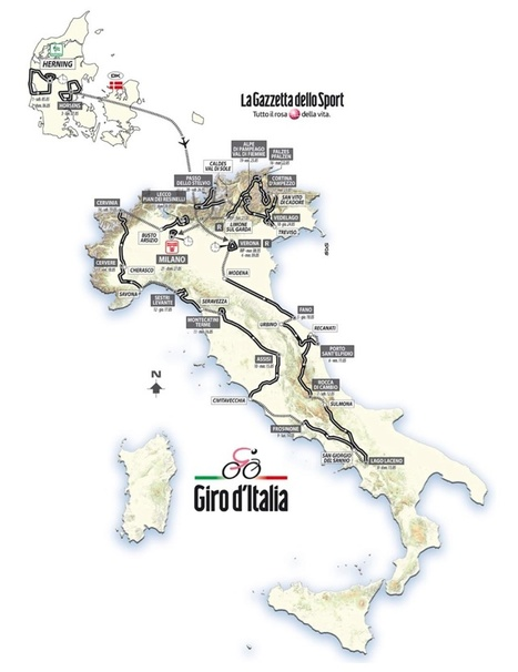 Giro d'Italia 2012 - 3 stages in Le Marche | Le Marche another Italy | Scoop.it