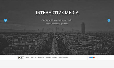 Bolt Blogger Template | Blogger themes | Scoop.it