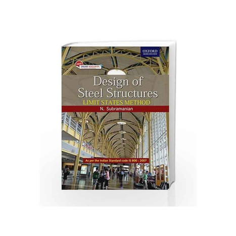 design of steel structures by n subramanian fr