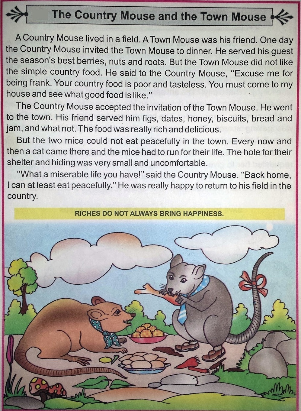 Online Hindi English And Punjabi Comics The Co Town Mouse Country