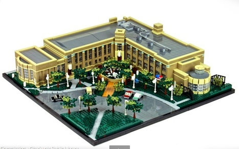 LEGO Libraries and Bookstores - BOOK RIOT   School Library in the digital Age   Scoop.it