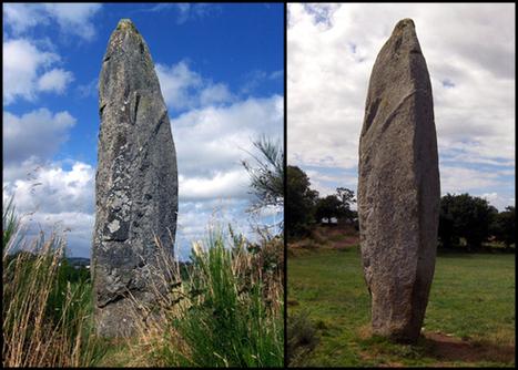 Quintin: Menhir de la Roche Longue   Mégalithismes   Scoop.it