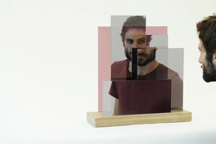 Miroir Layered me par Katharina Mischer et Thomas Traxler | Blog Esprit-Design : tendance Design / Deco | What Surrounds You | Scoop.it